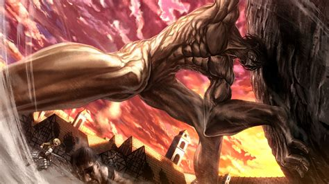 attack on tian attack on titan rogue titan 5z wallpaper hd