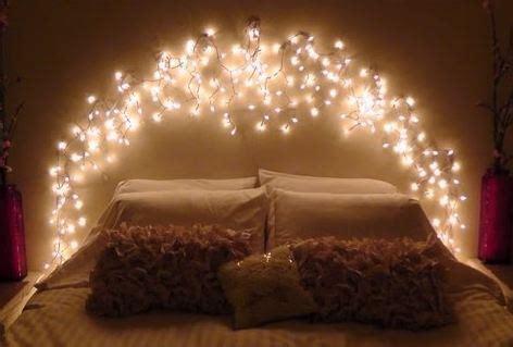 Using Fairy Lights Around The Home Festive Lights Lights Around Bed