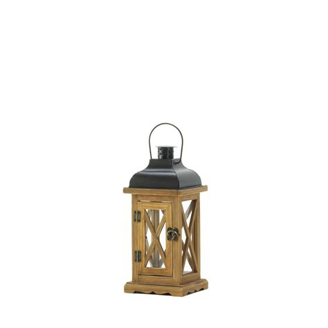 hayloft small wooden candle lantern wholesale at koehler