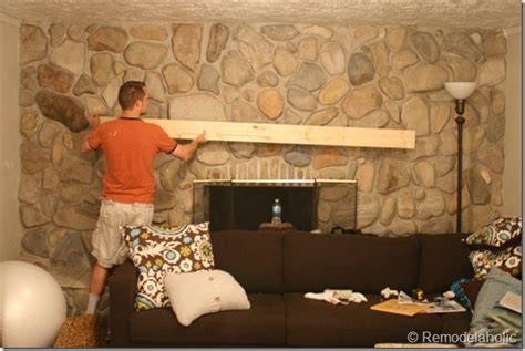 how to install a mantel on a brick fireplace installing a wood mantel on a wall diy