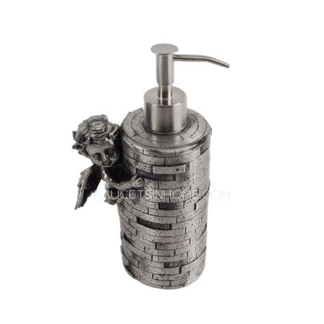 luxury angle decorative soap dispensers for bathroom