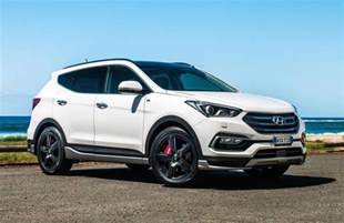 Hyundai Santa 2016 Hyundai Santa Fe Series Ii On Sale In Australia From