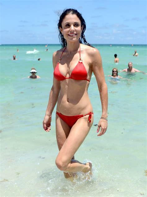 celebrity bethenny frankel bethenny frankel hot celebs in swimsuits over 40 us weekly