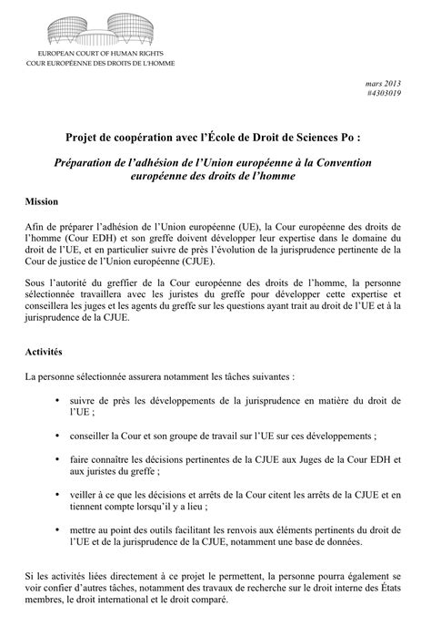 Conseils Lettre De Motivation Sciences Po exemple lettre motivation pour sciences po