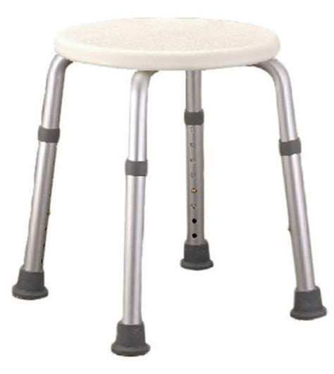 small portable aluminum bathtub shower stool