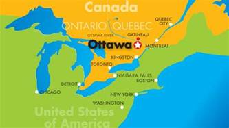 location of ottawa canada on world map maps ottawa tourism