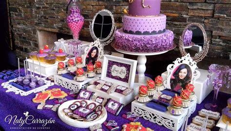 decoracion unicornio cumpleaños descendants maleficent s daugther birthday ideas