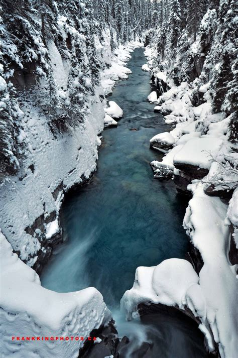 natural landscapes winter in the canyon frank king photos