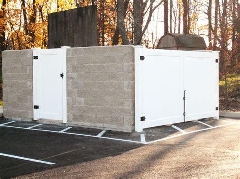 dumpster enclosure 14 best dumpster enclosure images on pinterest pallet