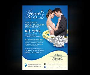 flyer design for jewellery jewelry flyer designs