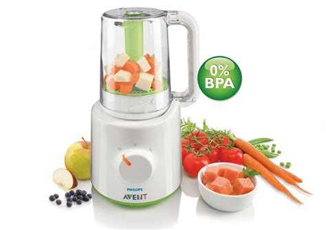Blender Mini Avent philips avent combined baby food steamer and blender