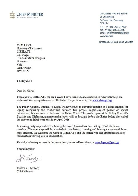 thank you letter after meeting minister chief minister s letter to liberate petition liberate