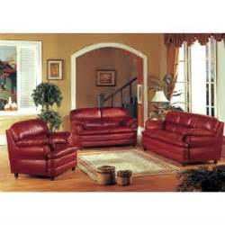 burgundy leather sofa loveseat chair living room set buy