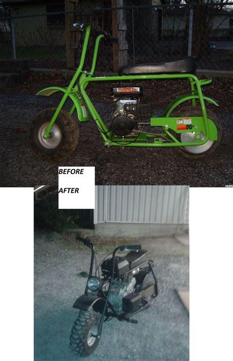 doodlebug mini bike modifications doodle build tc minibike mods travis
