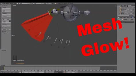 blender 3d rigging tutorial blender 3d mesh sword glow auto rig tutorial easy