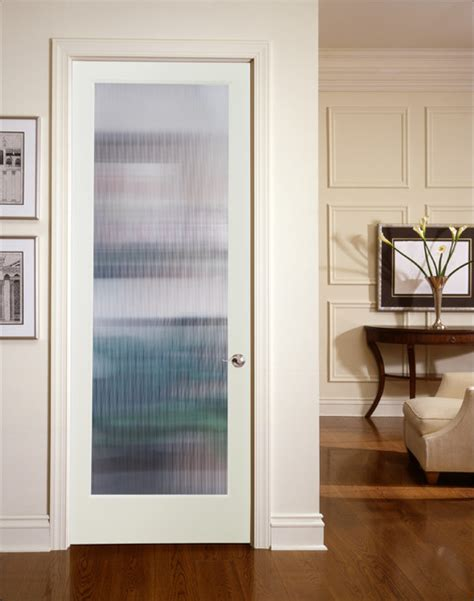 Decorative Interior Doors With Glass Narrow Reed Decorative Glass Interior Door Living Room Sacramento By Homestory Easy Door