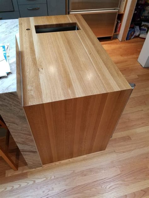 considering countertop refinishing get a new wood top
