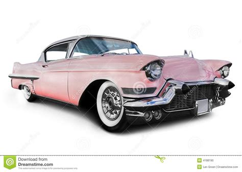 American House Design And Plans pink cadillac car stock photo image 4188190