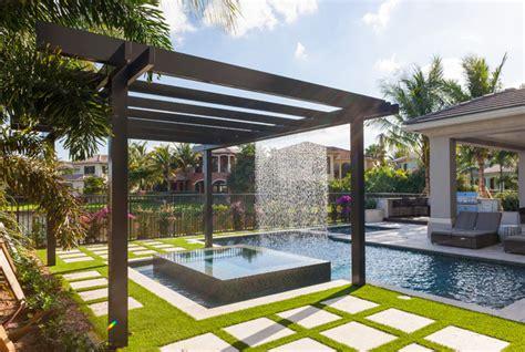 Astounding Modern Pergolas Miami Garden Landscape Pergolas In Miami