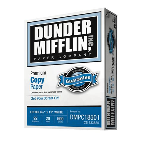 Dunder Mifflin dunder mifflin paper company fonts in use