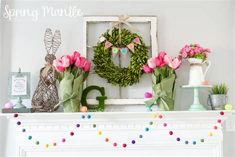 spring decor 2017 15 fresh ways to decorate your mantel for spring
