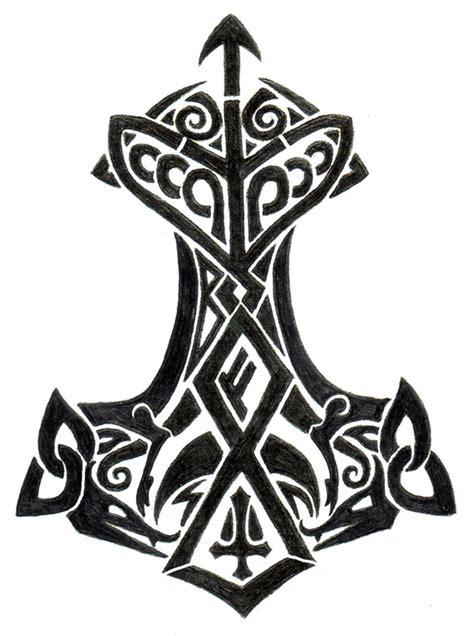 thor s hammer tattoo designs thor s hammer by gnomage on deviantart
