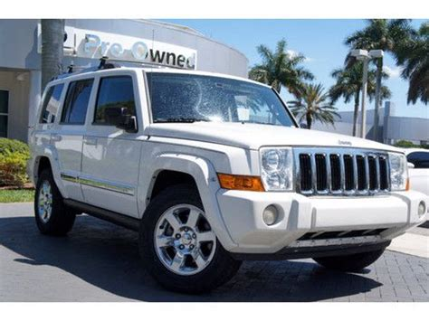 automobile air conditioning service 2008 jeep commander head up display buy used 2008 jeep commander limited rear wheel drive 1 owner clean carfax florida car in