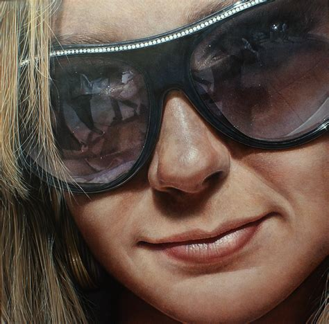acrylic painting realism hyperrealist artist painted until he got really