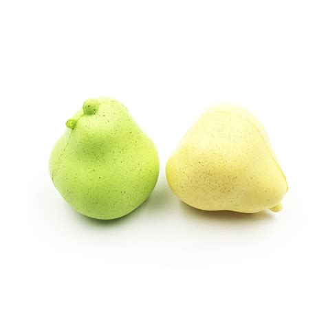 jumbo rising giggle bread pear squishy with