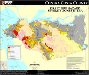 cal contra costa county fhsz map
