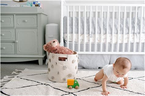 why did the rug roll around his baby friendly nursery with canals rug diary