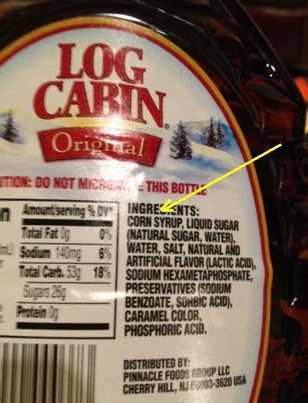 does not contain high fructose corn syrup