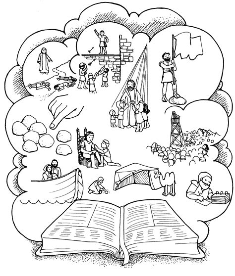 lds coloring pages samuel the lamanite mormon share book of mormon stories