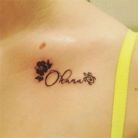 ohana tattoo designs ideas and meaning tattoos for you