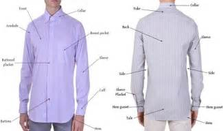 mens dress shirt measurement guide with size chart