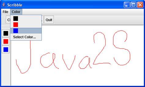 swing applet scribble applet applet 171 swing jfc 171 java