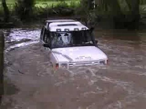 land rover water land rovers green laning in water hiqltyvid