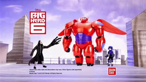 Flying Baymax big 6 deluxe flying baymax tv commercial rule the