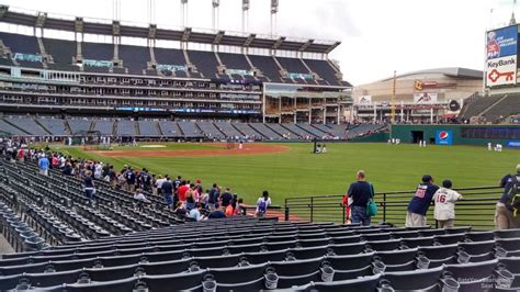 Progressive Field Section 117 Rateyourseats Com