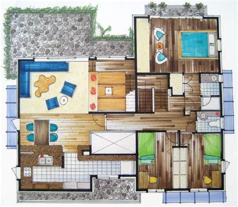 rendered floor plan rendered floor plans google search renderings pinterest