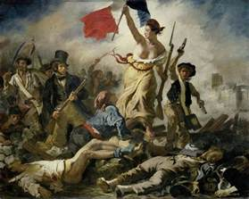 die le liberty leading the
