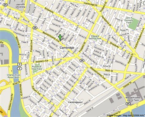 harvard cus map harvard square map