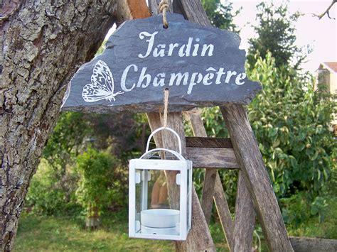 Deco Ardoise Jardin by D 233 Coration De Jardin Suspension Ardoise Quot Jardin Ch 234 Tre