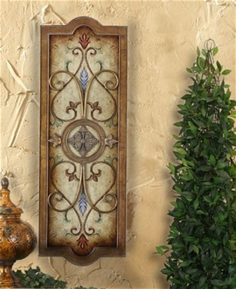 tuscan old world set of 3 large plaques with crosses tuscan wall plaque tuscan wall decor pinterest