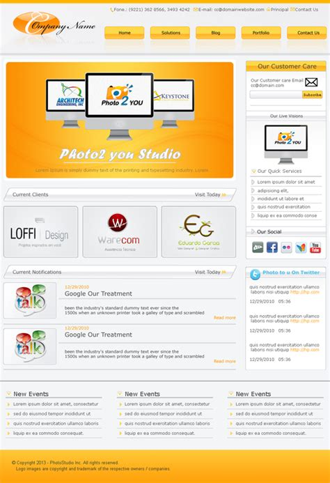 template psd fresh free psd website templates freebies graphic