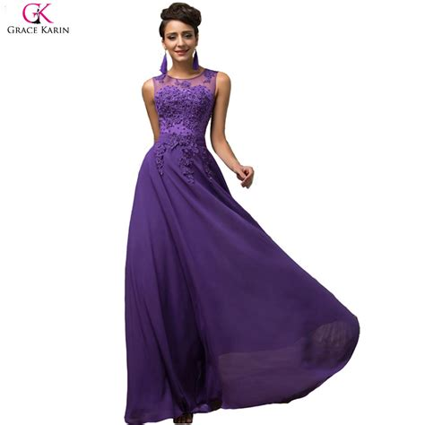 purple evening formal dresses overstock shopping evening dress long 2017 grace karin pink purple red black