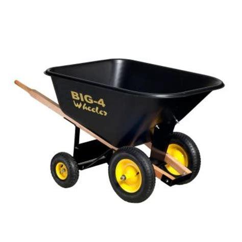 10 cu ft heavy duty wheelbarrow b4w 10 the home depot