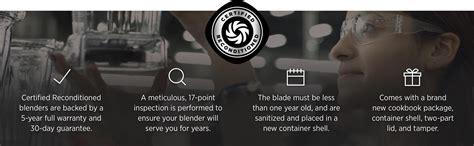Vitamix Standard Blender Black vitamix standard blender black certified
