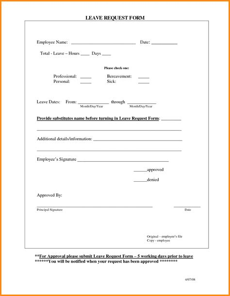 annual leave card template 5 annual leave forms template driver resume