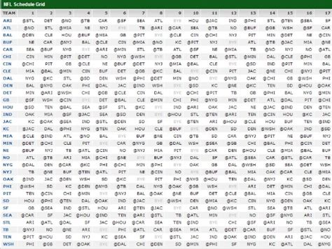 printable nfl schedule espn 2013 nfl grid schedule image 2013 espn monday night